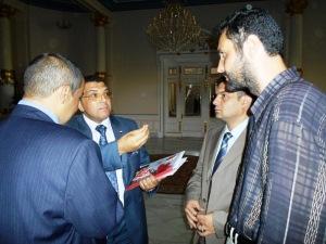 وزير التربية والتعليم يستقبل الحسينى محمد _ الخوجة  083