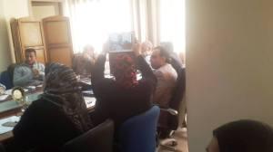 فاطمة تبارك ,فاطمة الزهراء ,#فاطمة تبارك , لقاء معلمى التعليم الفنى بمعالى نائب الوزير للتعليم الفنى الدكتور محمد يوسف