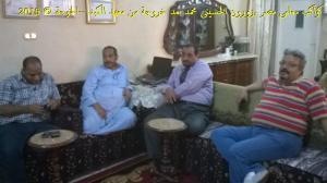 #معلمى_مصر ..يعاودون #الحسينى محمد ( الخوجة ) بالزيارة بعد خروجة من #معهد_الكبد_القومى (10)