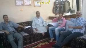 #معلمى_مصر , معلمى مدرسة الاعدادى المهنى بنين فى بركة السبع يعاودون الحسينى محمد ( الخوجة ) فى وعكته الصحية (1 (66)