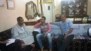 #معلمى_مصر , معلمى مدرسة الاعدادى المهنى بنين فى بركة السبع يعاودون الحسينى محمد ( الخوجة ) فى وعكته الصحية (1 (68)