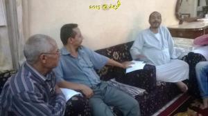 #معلمى_مصر , معلمى مدرسة الاعدادى المهنى بنين فى بركة السبع يعاودون الحسينى محمد ( الخوجة ) فى وعكته الصحية (1 (69)