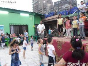 حفل يوم شم النسيم فى نادى المعلمين بالجيزة