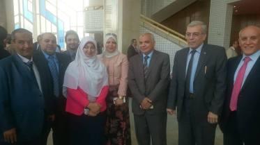 الحسينى محمد , مؤتمر التعليم,ادارة بركة السبع,وزارة التربية والتعليم,مديرية التربية والتعليم بالمنوفية,تطوير التعليم فى مصر